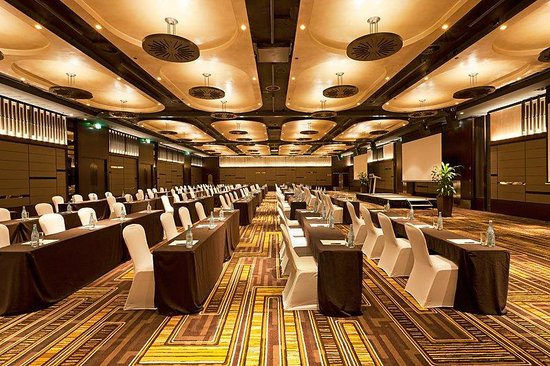 Golden Ballroom Classroom Pan Pacific Perth Picture Of