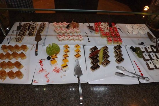 Iberotel Palace : All these desserts have their own taste