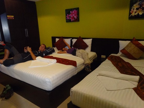 Great Residence Hotel: Nice, spacious triple room