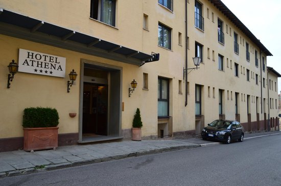 Hotel Athena: ingresso principale