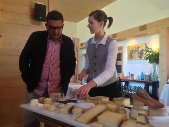 """Restaurant étoilé """"Flocons de Sel"""" : cheese selection...amazing"""