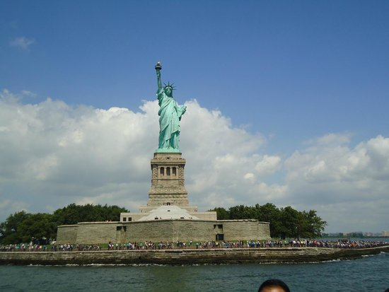 Estatua de la libertad: Must be the most viewed statue in the world.
