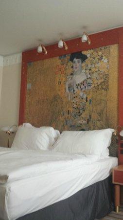 Hotel Am Konzerthaus Vienna MGallery by Sofitel: Klimt in testa