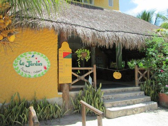 Le Jardin Panaderia/Cafeteria: Entrada