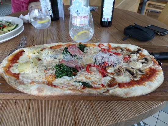 Ask Italian - Bury St Edmunds: great pizza