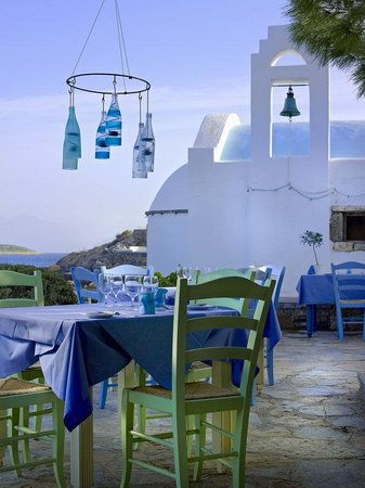 St. Nicolas Bay Resort Hotel & Villas: Kafenion Restaurant