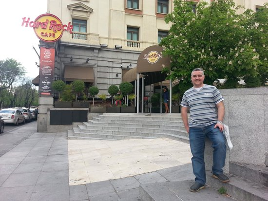 Hard Rock Cafe : Entrada