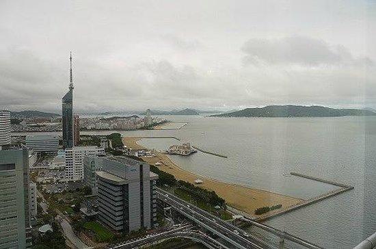 Hilton Fukuoka Sea Hawk: お部屋からの眺め