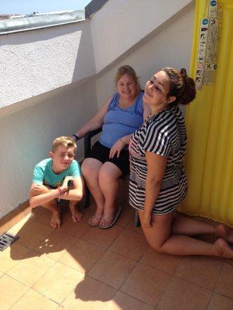 Santa Susanna Resort : Balcony 🙈