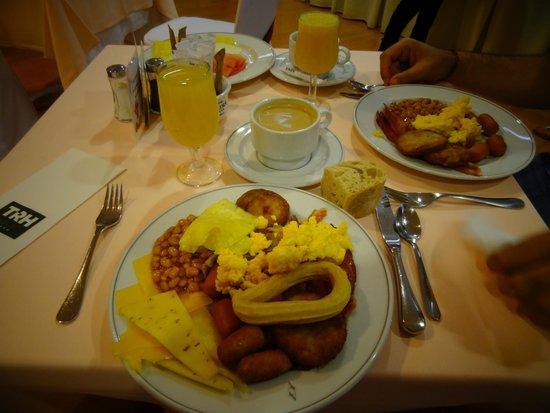 Hotel Alcora SEVILLA : Breakfast