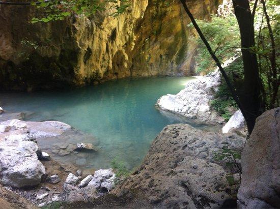 Nydri Waterfalls: Scorcio