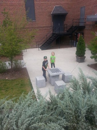 The Mount Airy Visitors Center: Visitor Center in Mt. Airy