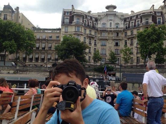 La Seine : Не забывайте делать фотографии;))