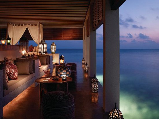 Four Seasons Resort Maldives at Landaa Giraavaru: MLG Bar