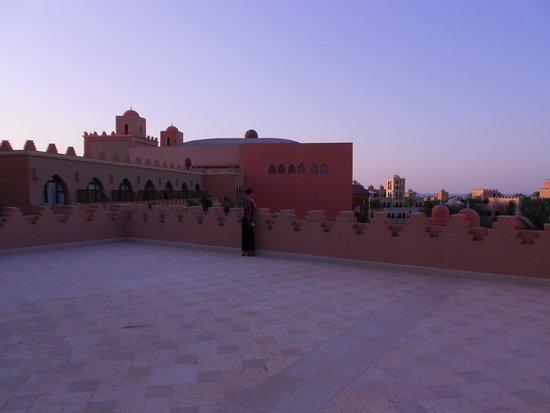 The Makadi Palace Hotel: Смотровая площадка на крыше главного корпуса