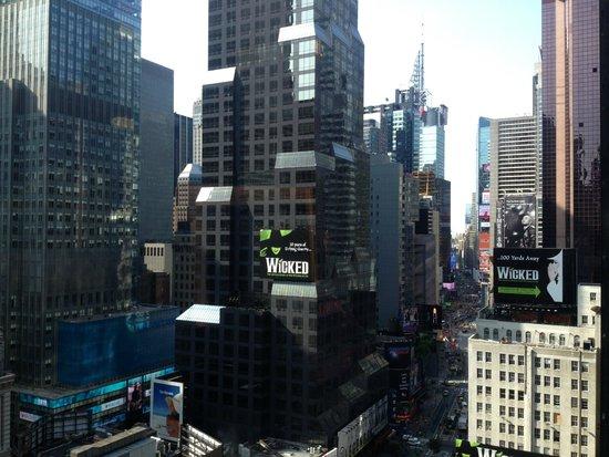 Novotel New York Times Square : vue de la chambre