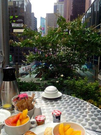 Novotel New York Times Square : Terrasse ( II )