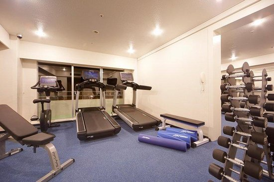 ANA InterContinental Manza Beach Resort: Fitness Room