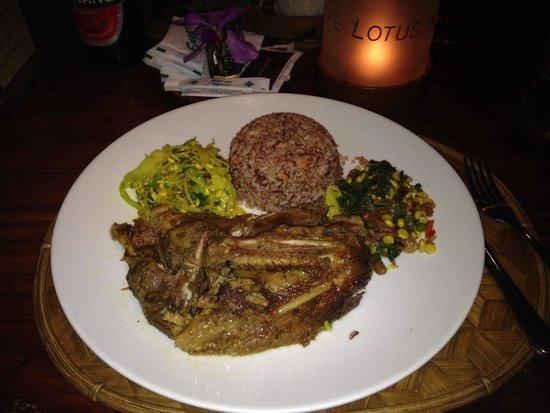 Cafe Lotus: Anatra stufata