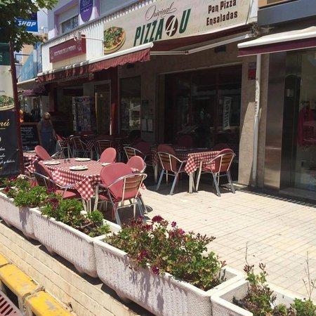 Terraza De Pizza4u Del Albir Picture Of Pizza 4u El Albir