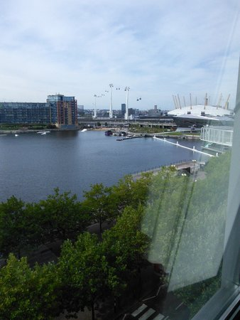 Crowne Plaza London - Docklands: view from our room