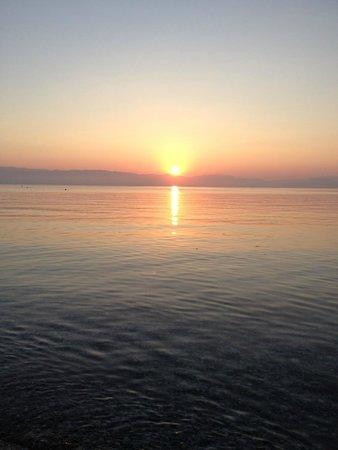 Aeolos Beach Resort: 7 am sunrise