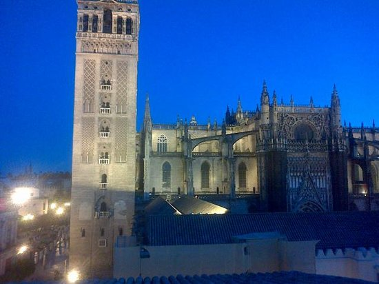 EME Catedral Hotel: Cathedral by night