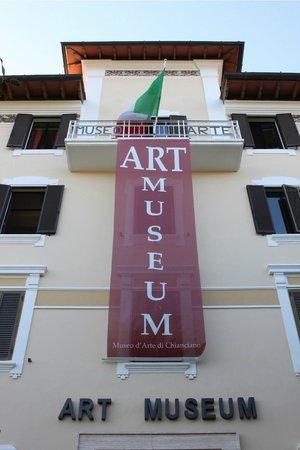 Art Museum of Chianciano Terme: facciata principale