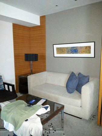 Radisson Blu Cebu: We have our own Lounge to relax in front of the tv