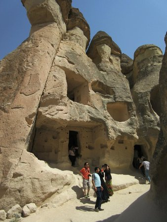 Sultan Cave Suites: ancient caves from Hittite period at Fairy Chimneys
