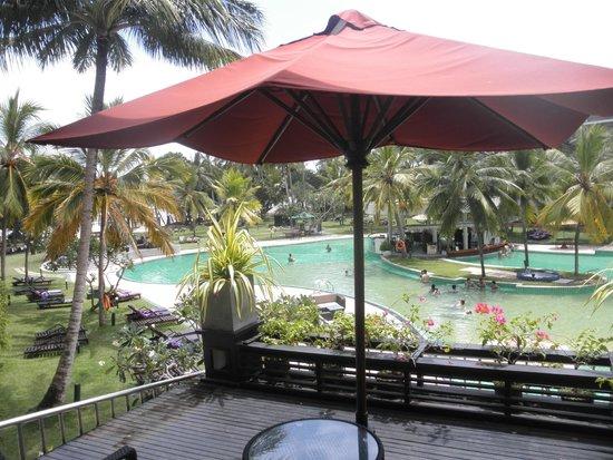Eden Resort & Spa : my terace view