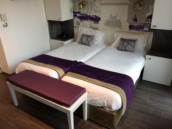 Lagrange City Apart'Hotel Lyon Lumiere : La chambre