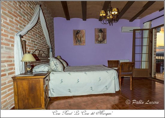 Casa Rural La Casa del Marques: Habitacion San Vicente