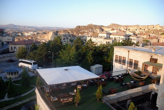Fresco Cave Suites/Cappadocia: View from our balcony