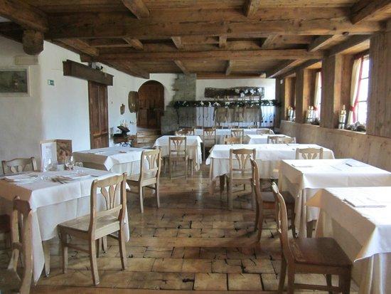 Agriturismo Rini: Il ristorante...