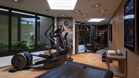 L'Agapa Hotel SPA Nuxe : Fitness Room