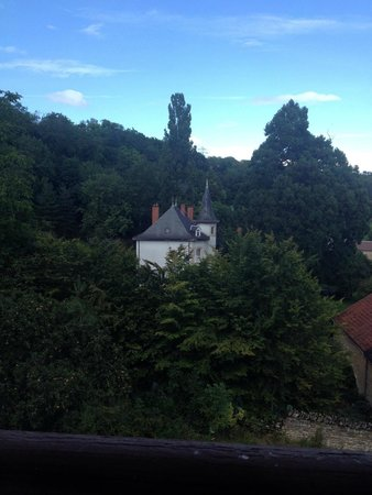Chateau Les Roches: view