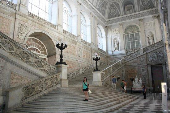 Palazzo Reale: Entrada del palacio