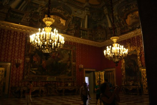 Palazzo Reale: Primer salón