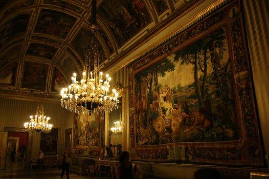 Palazzo Reale: Pasillos