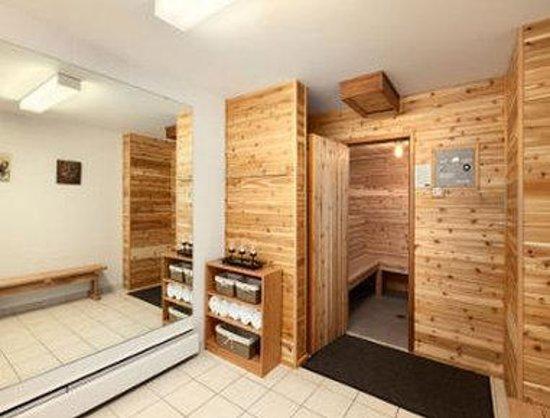 Travelodge Nanaimo: Sauna