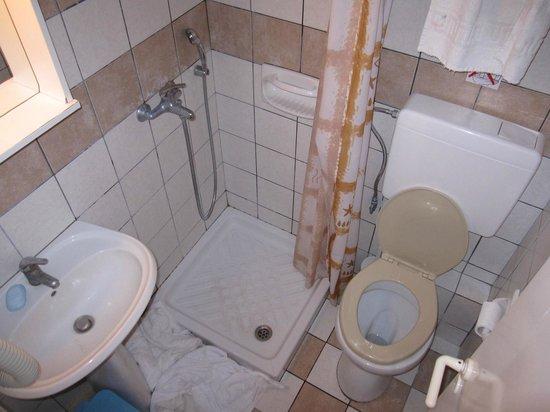 Golden Nests: TINY bathroom
