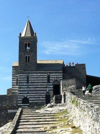 San Pietro Church : Chiesa di San Pietro a Porto Venere