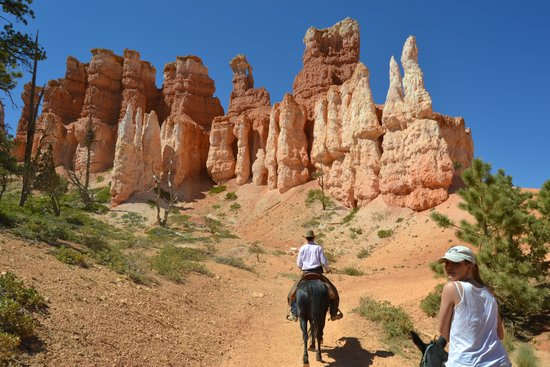 Bryce Canyon: Balade à cheval