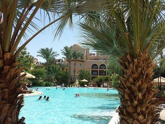The Makadi Palace Hotel: Anlage hat ein schönes Erscheinungsbild