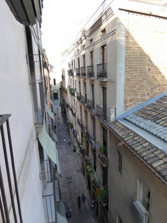 """Casa Camper Hotel Barcelona: view from the """"lounge room"""""""