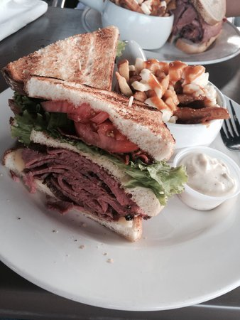 Moe's Deli & Bar : Sandwich club Moe's