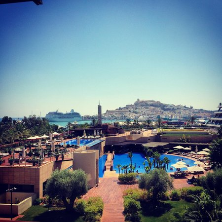 Ibiza Gran Hotel: view from suite / 3 floor