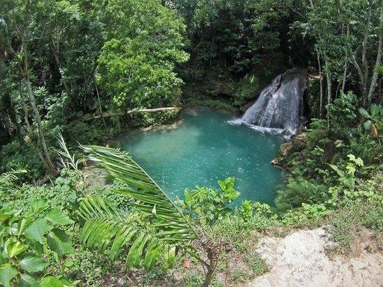 Island Gully Falls: Blue Hole