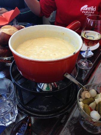 Jungfraujoch : fondue